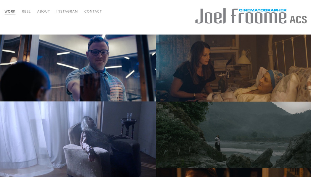Joel Froome Cinematographer
